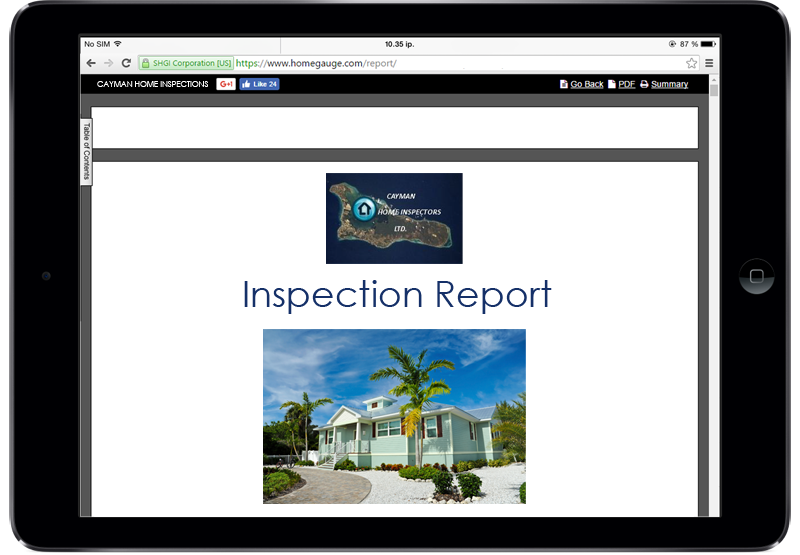 Cayman Island Home Inspections Home Gauge